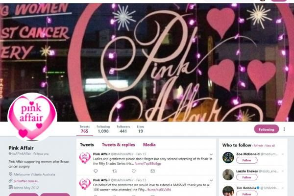It's A PinkAffair Twitter