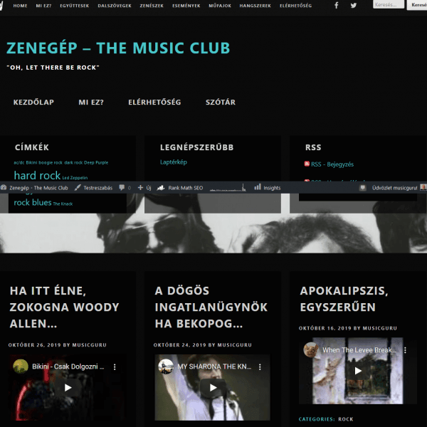 Zenegép - The Music Club